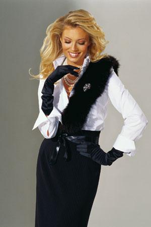 Богатая женская одежда